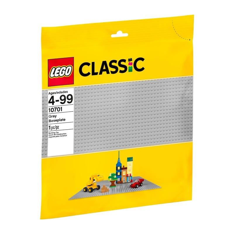 LEGO 10701 Строительная пластина серого цвета