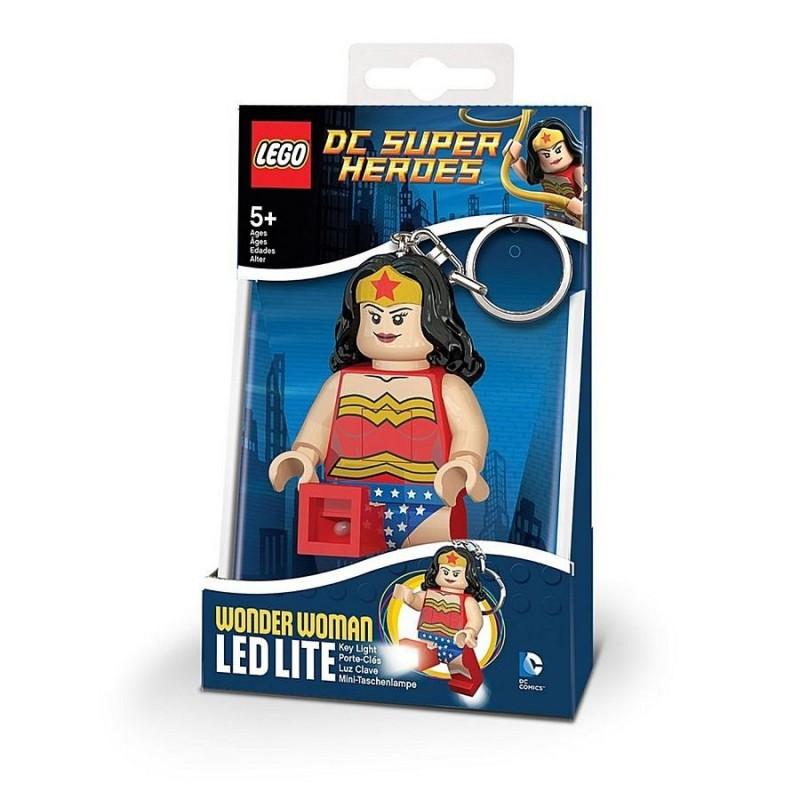 Брелок-фонарик LEGO LGL-KE70 Wonderwoman - Чудо-Женщина