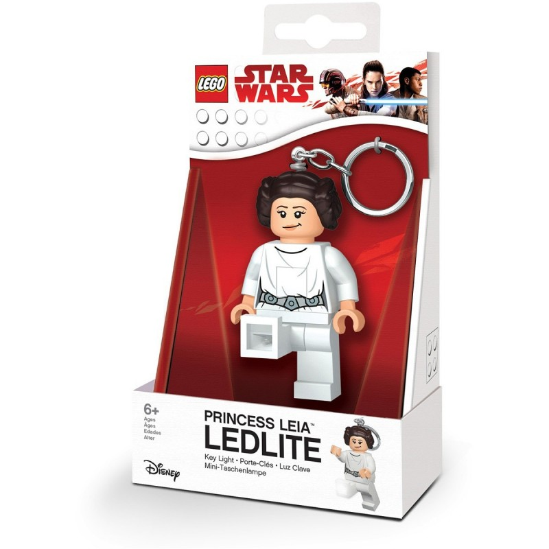 Брелок-фонарик LEGO LGL-KE109 Princess Leia - Принцесса Лея