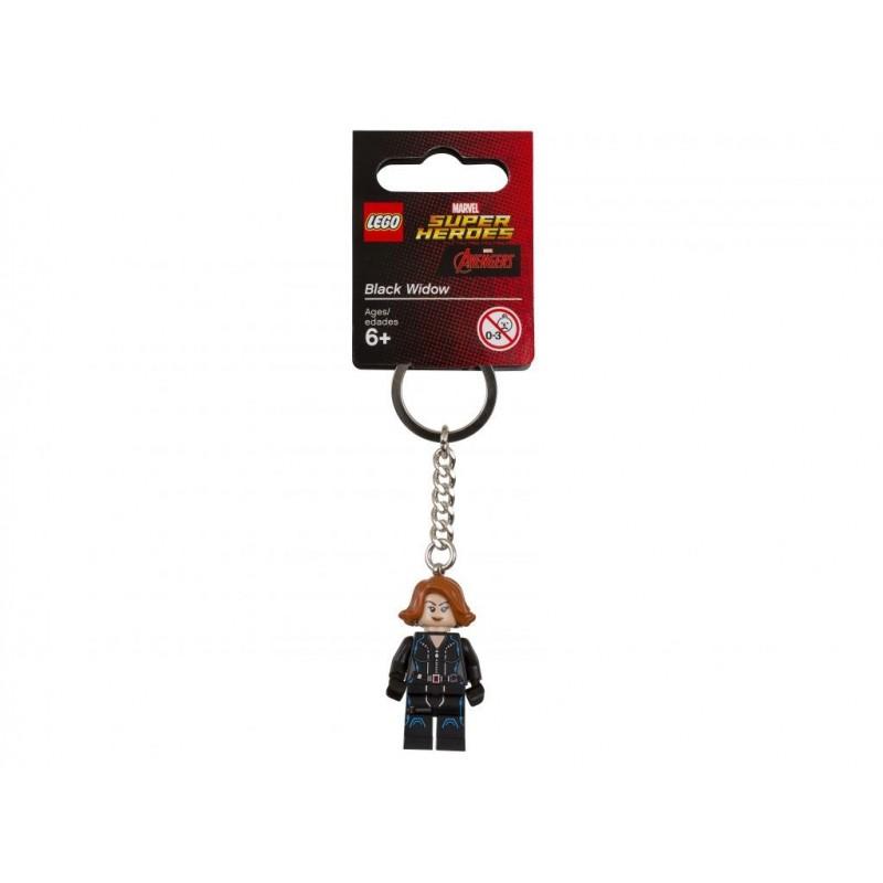 Брелок LEGO Super Heroes 6153634 Черная вдова