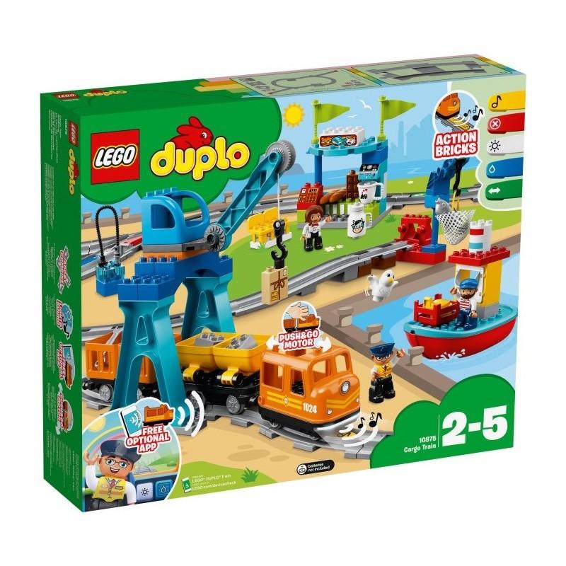 LEGO 10875 Грузовой поезд