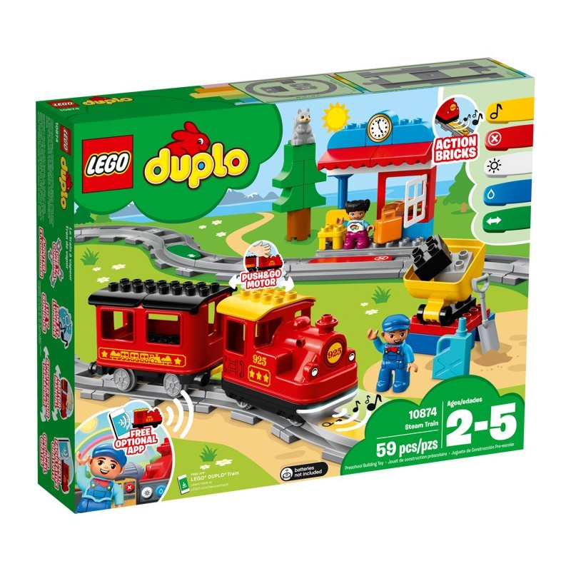 LEGO 10874 Паровоз