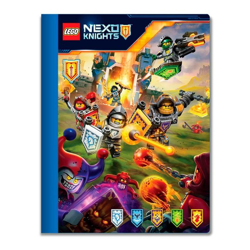 LEGO Тетрадь Nexo Knights 51641 Линейка 100 листов