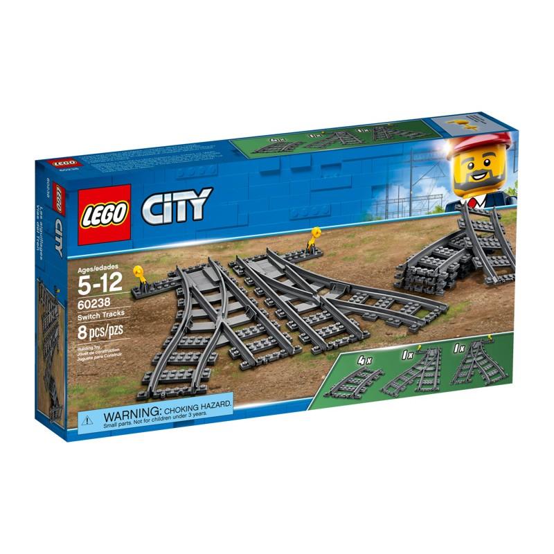 LEGO 60238 Железнодорожные стрелки