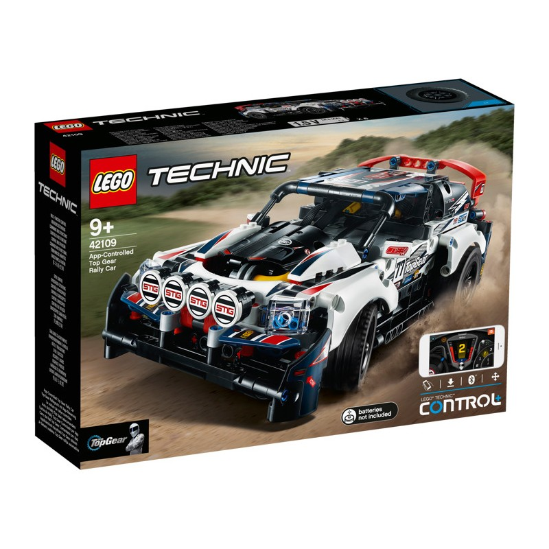 LEGO 42109 Top Gear Rally Car на ДУ