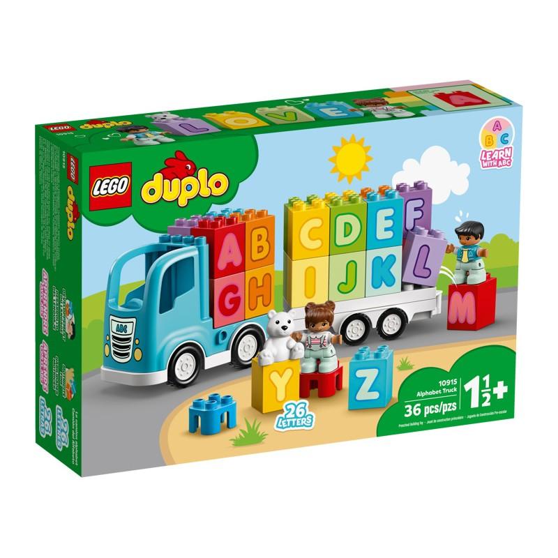 LEGO 10915 Грузовик Алфавит