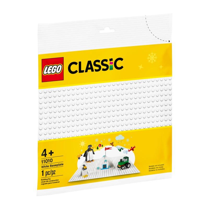 LEGO 11010 Белая базовая пластина