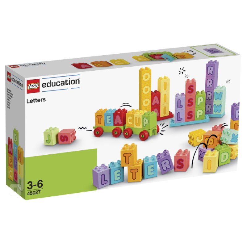 LEGO 45027 Английский Алфавит DUPLO (3 - 6 лет)