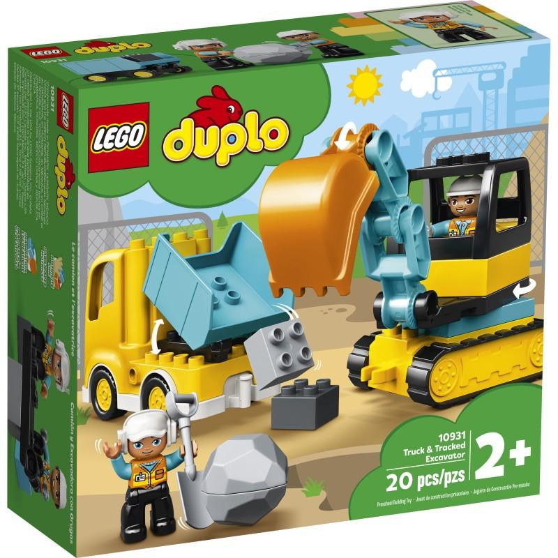 LEGO 10931 Грузовик и гусеничный экскаватор