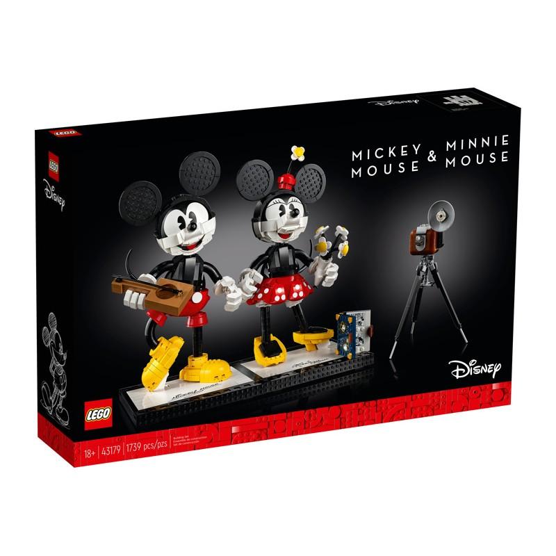 LEGO 43179 Микки Маус и Минни Маус