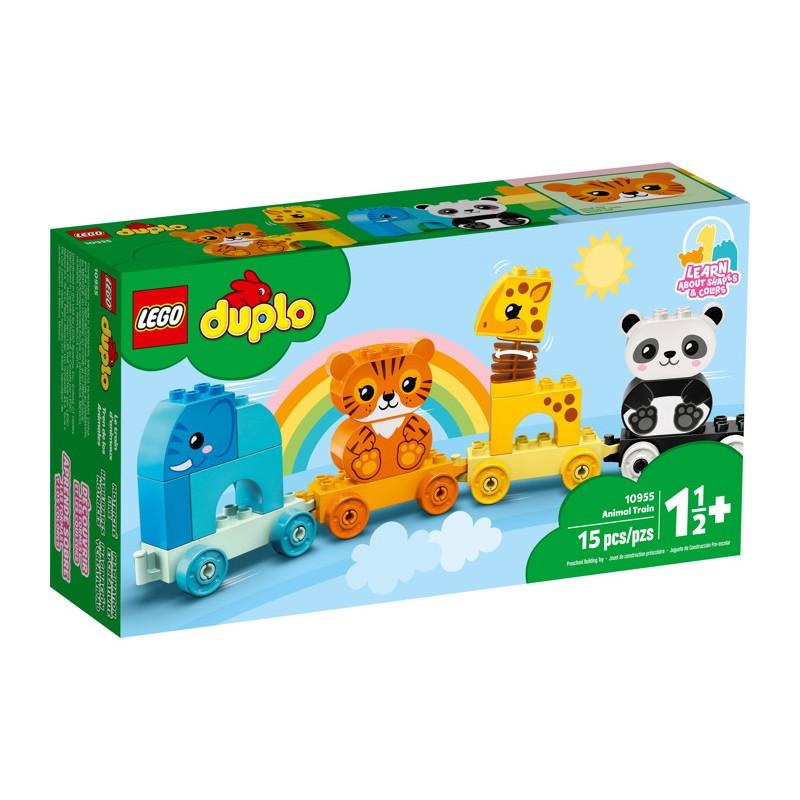 LEGO 10955 Мой первый поезд для зверей