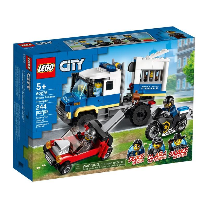 LEGO 60276 Транспорт для перевозки преступников