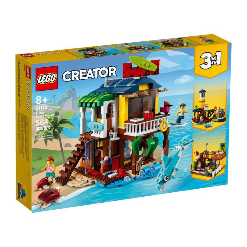 LEGO 31118 Пляжный домик серферов
