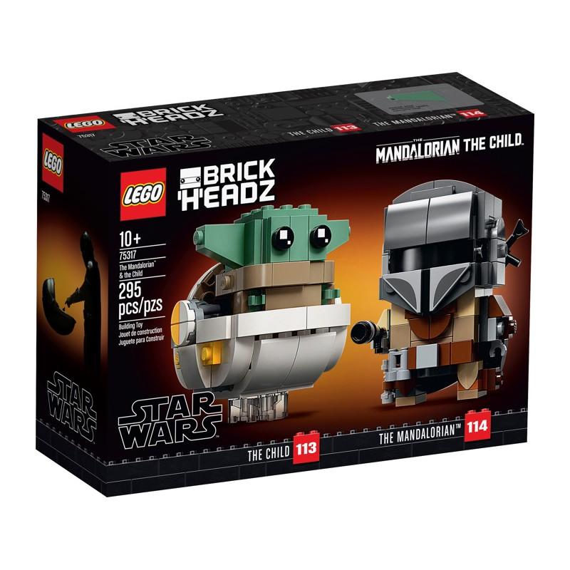 LEGO 75317 Мандалорец и малыш