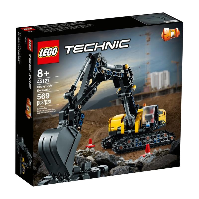 LEGO 42121 Тяжелый экскаватор