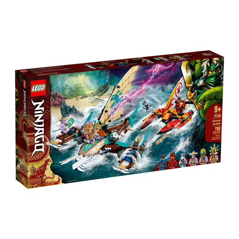 LEGO 71748 Морская битва на катамаране
