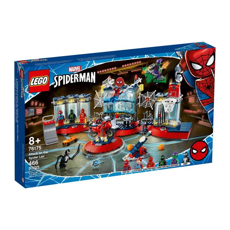 LEGO 76175 Нападение на мастерскую паука