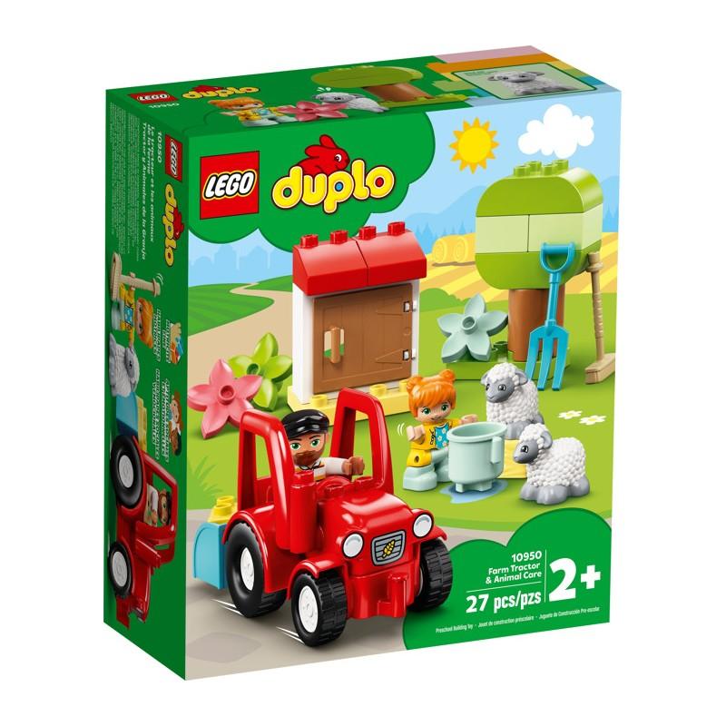 LEGO 10950 Фермерский трактор и животные