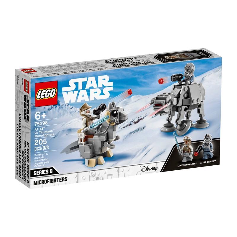 LEGO 75298 Микрофайтеры: AT-AT против таунтауна