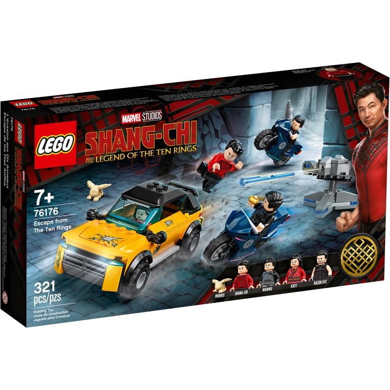 LEGO 76176 Побег от Десяти колец