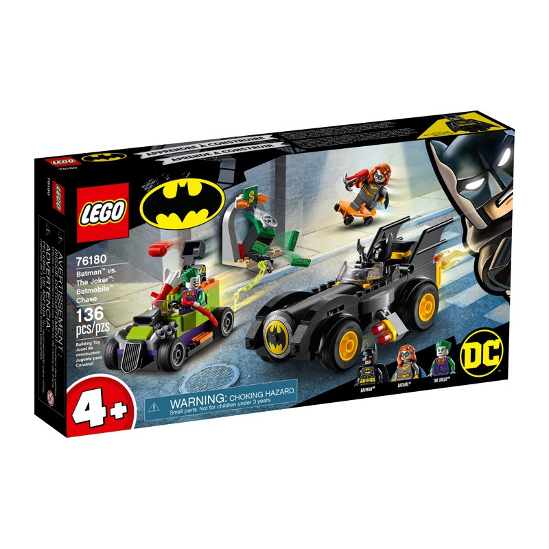 LEGO 76180 Бэтмен против Джокера погоня на Бэтмобиле