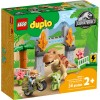 LEGO 10939 Побег динозавров: тираннозавр и трицератопс