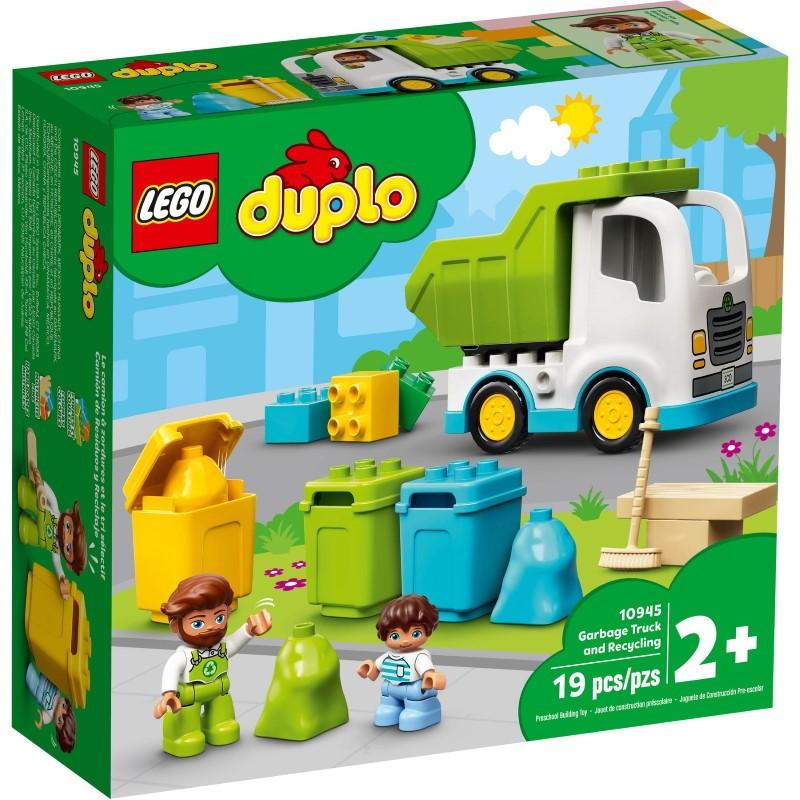 LEGO 10945 Мусоровоз и контейнеры для раздельного сбора мусора