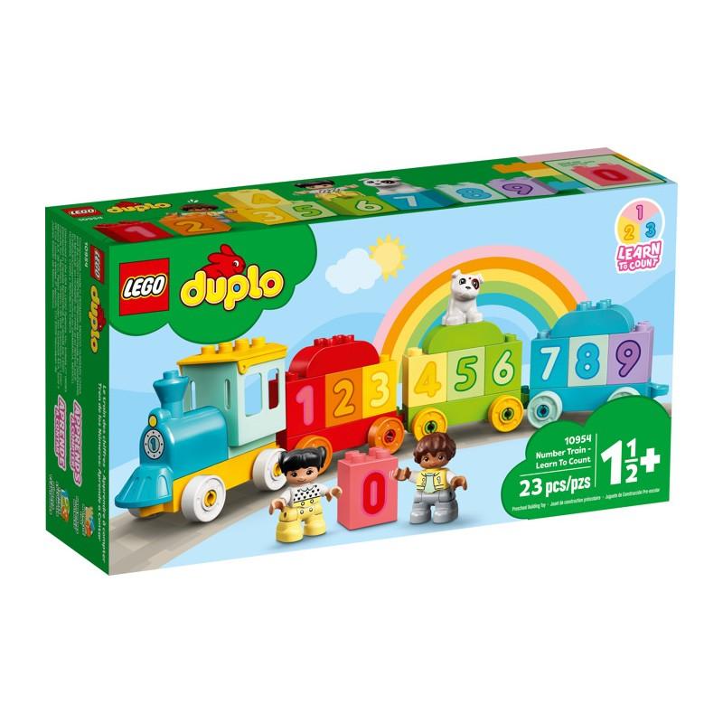 LEGO 10954 Поезд с цифрами — учимся считать