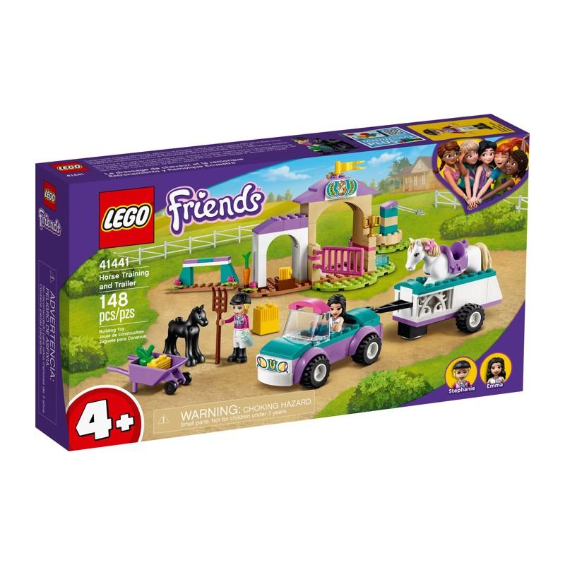 LEGO 41441 Тренировка лошади и прицеп для перевозки