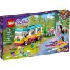 LEGO 41681 Лесной дом на колесах и парусная лодка
