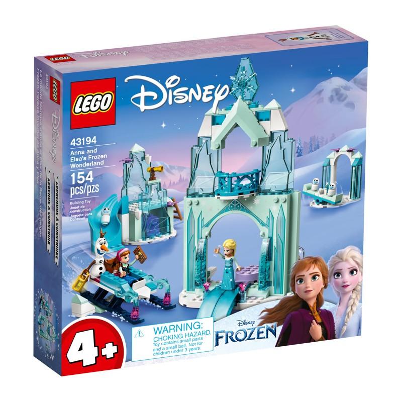 LEGO 43194 Зимняя сказка Анны и Эльзы