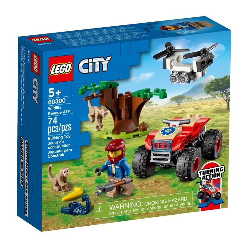 LEGO 60300 Спасательный вездеход для зверей