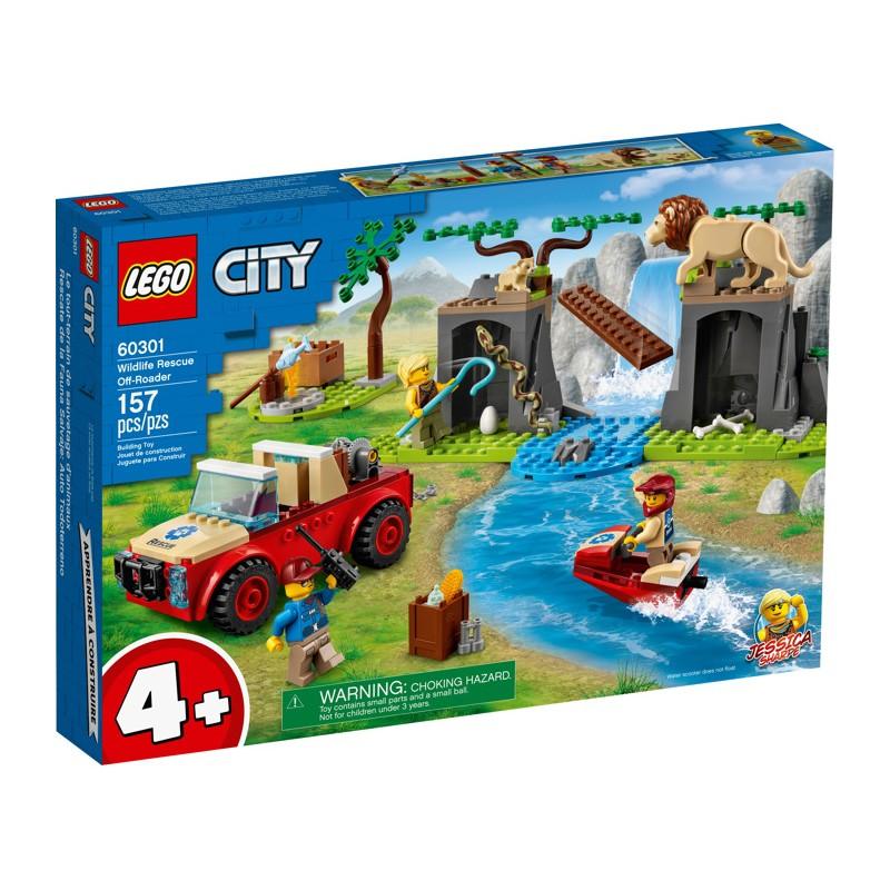 LEGO 60301 Спасательный внедорожник для зверей