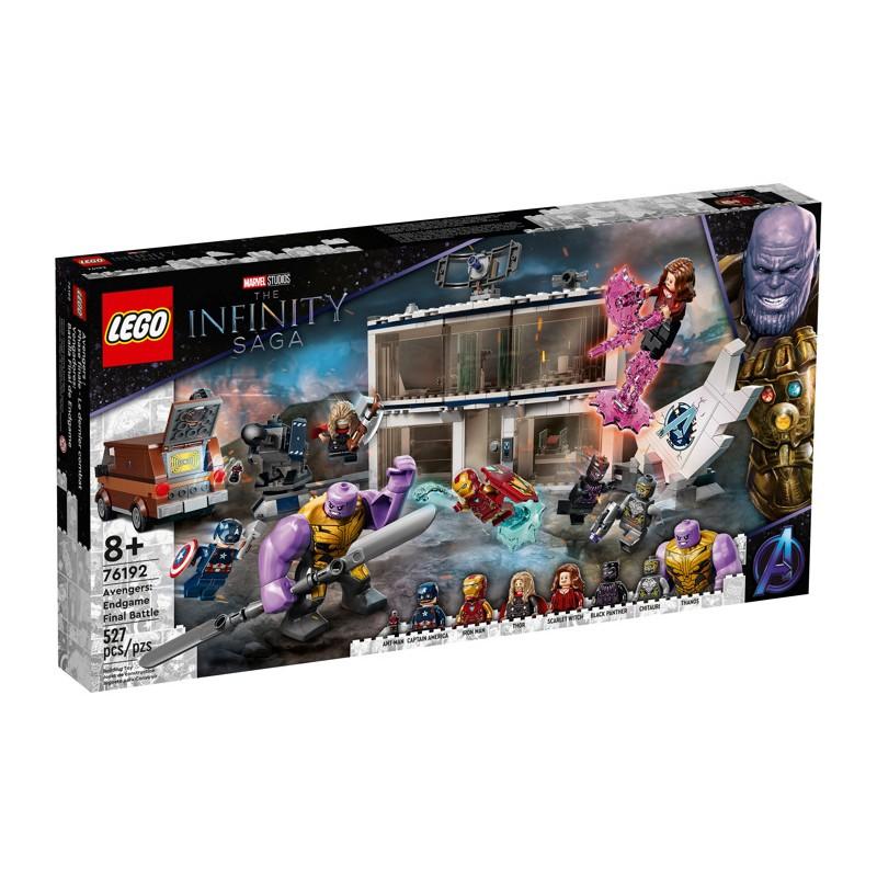 LEGO 76191 Мстители Финал — решающая битва